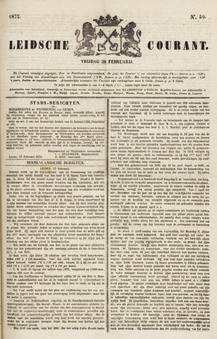 Leydse Courant 1873-02-28