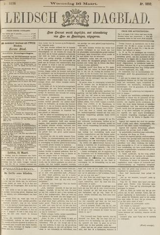 Leidsch Dagblad 1892-03-16