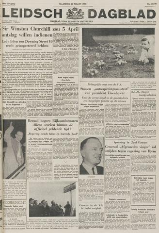 Leidsch Dagblad 1955-03-21