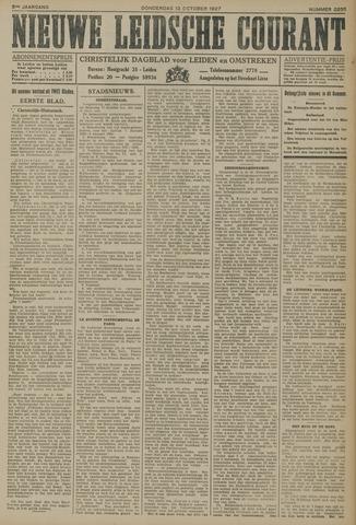 Nieuwe Leidsche Courant 1927-10-13