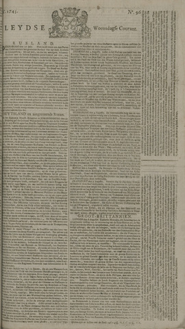 Leydse Courant 1745-08-11