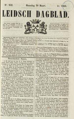 Leidsch Dagblad 1863-03-30