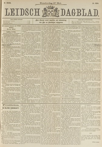 Leidsch Dagblad 1894-05-17