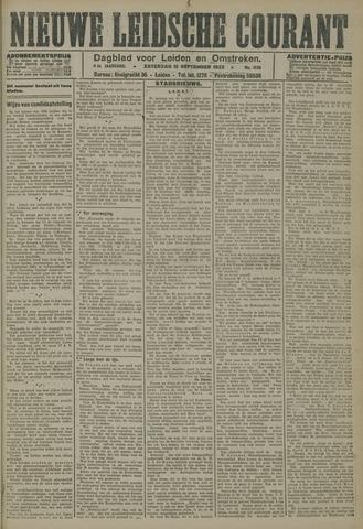 Nieuwe Leidsche Courant 1923-09-15