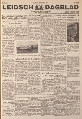 Leidsch Dagblad 1947-12-29