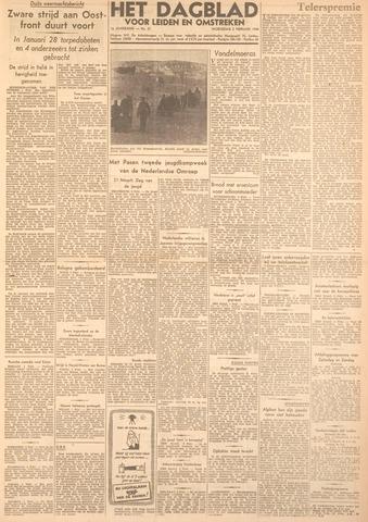 Dagblad voor Leiden en Omstreken 1944-02-02