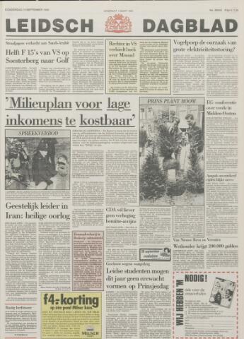 Leidsch Dagblad 1990-09-13