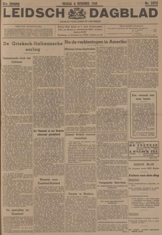 Leidsch Dagblad 1940-11-08