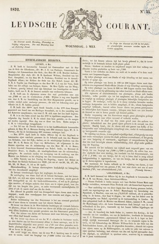 Leydse Courant 1852-05-05