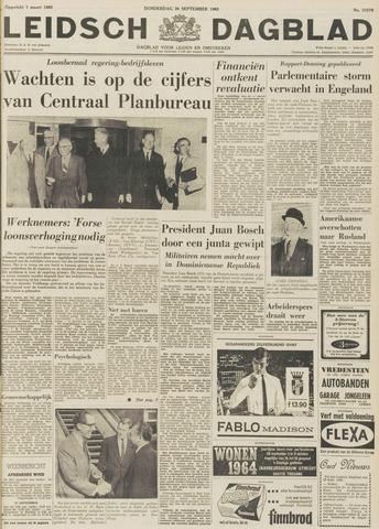 Leidsch Dagblad 1963-09-26
