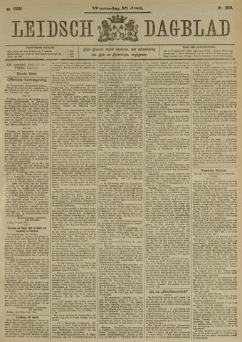 Leidsch Dagblad 1904-06-15