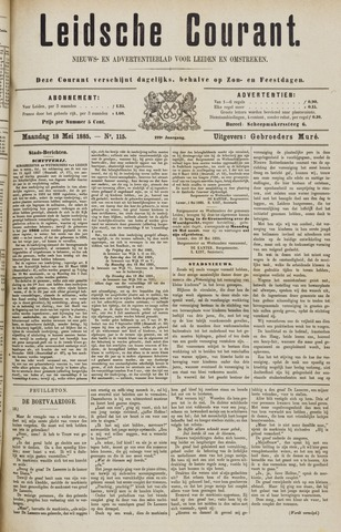 Leydse Courant 1885-05-18