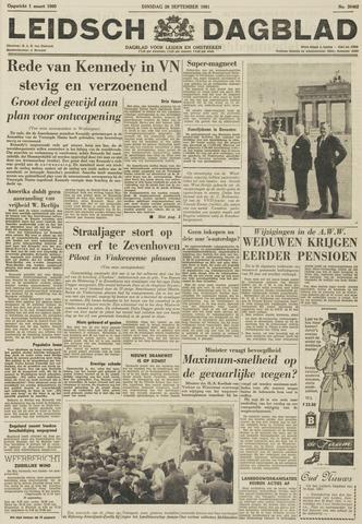 Leidsch Dagblad 1961-09-26
