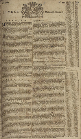 Leydse Courant 1760-09-15
