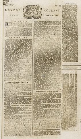Leydse Courant 1814-03-18