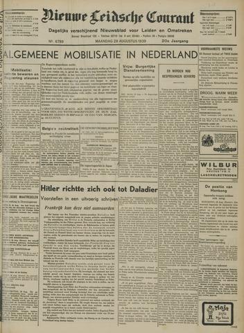 Nieuwe Leidsche Courant 1939-08-28