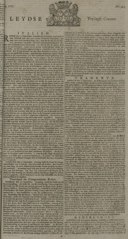 Leydse Courant 1727-10-03