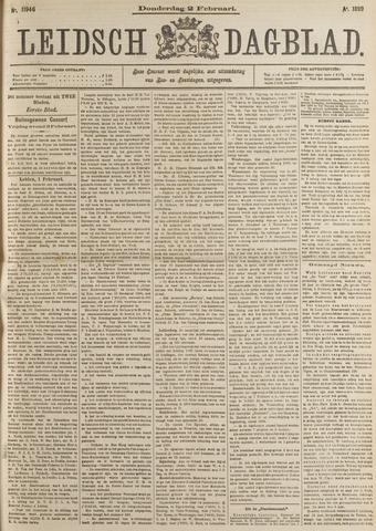 Leidsch Dagblad 1899-02-02