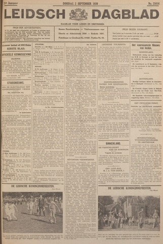 Leidsch Dagblad 1930-09-02