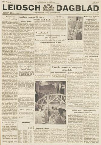 Leidsch Dagblad 1954-03-27