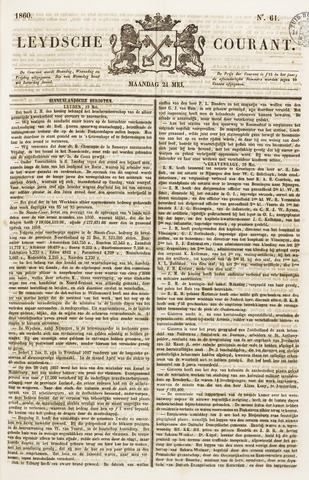 Leydse Courant 1860-05-21