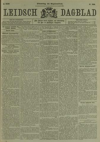 Leidsch Dagblad 1909-09-21