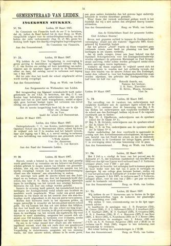 Handelingen van de Raad 1907-03-19