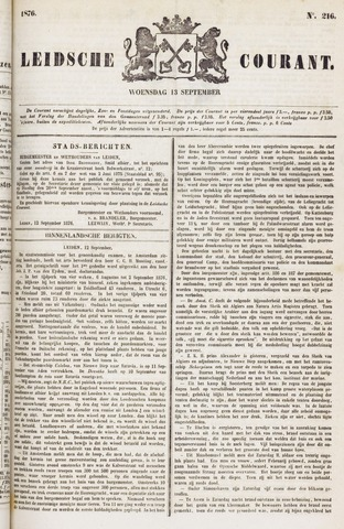 Leydse Courant 1876-09-13