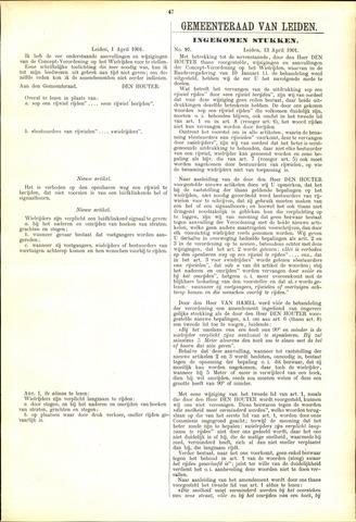 Handelingen van de Raad 1901-04-01