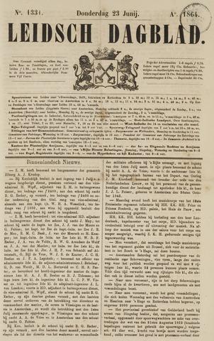 Leidsch Dagblad 1864-06-23