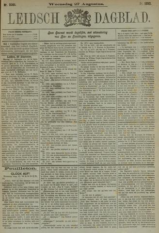 Leidsch Dagblad 1890-08-27