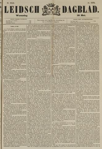 Leidsch Dagblad 1870-05-18