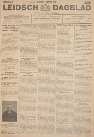 Leidsch Dagblad 1928-10-06