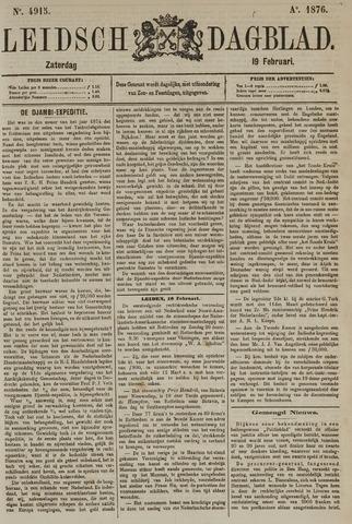 Leidsch Dagblad 1876-02-19