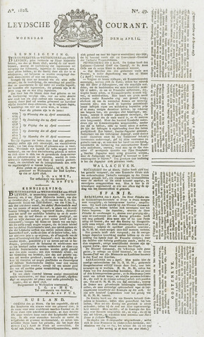 Leydse Courant 1828-04-23