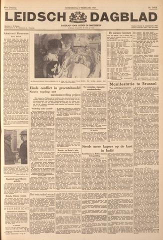 Leidsch Dagblad 1947-02-27