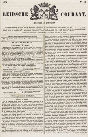 Leydse Courant 1875-01-18