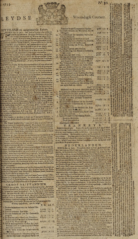 Leydse Courant 1753-08-01