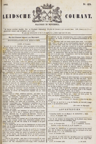 Leydse Courant 1882-11-20