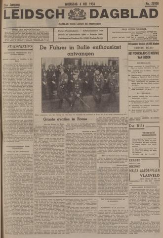 Leidsch Dagblad 1938-05-04