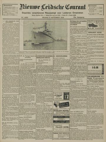 Nieuwe Leidsche Courant 1938-09-09