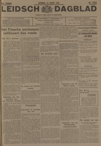 Leidsch Dagblad 1940-03-16