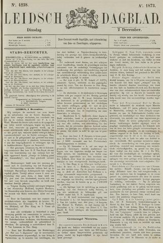 Leidsch Dagblad 1873-12-02