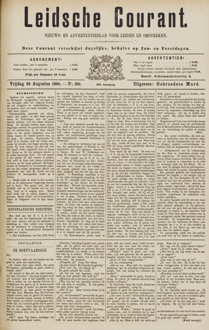 Leydse Courant 1885-08-28