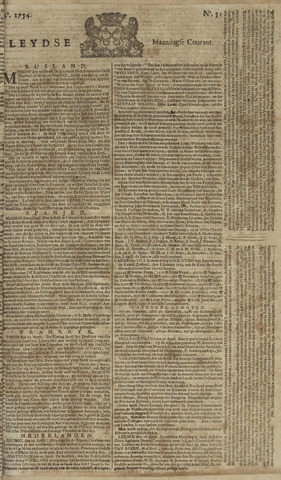 Leydse Courant 1754-04-29
