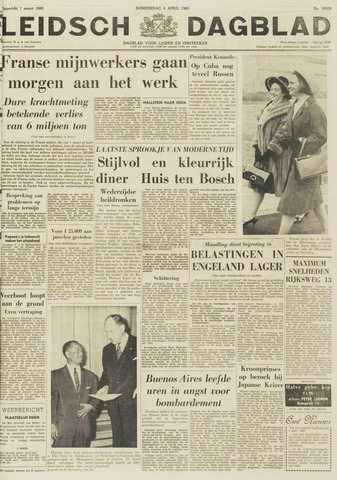 Leidsch Dagblad 1963-04-04