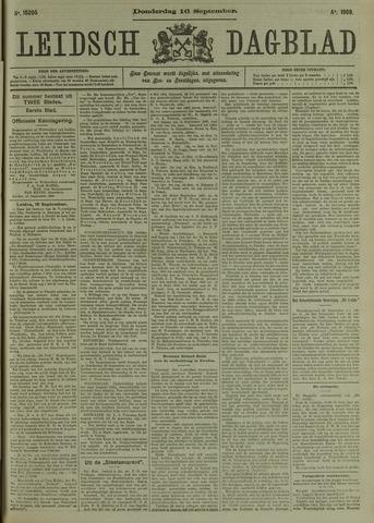 Leidsch Dagblad 1909-09-16