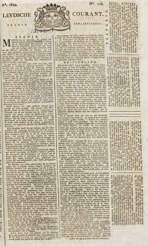 Leydse Courant 1825-09-09