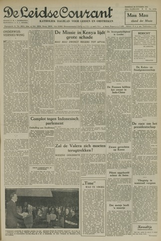 Leidse Courant 1952-10-28