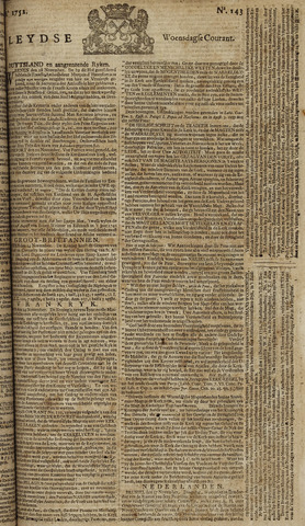 Leydse Courant 1752-11-29